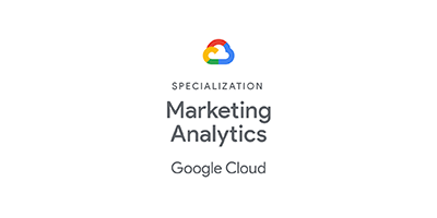 GCP Marketing Analytics Specialization Logo