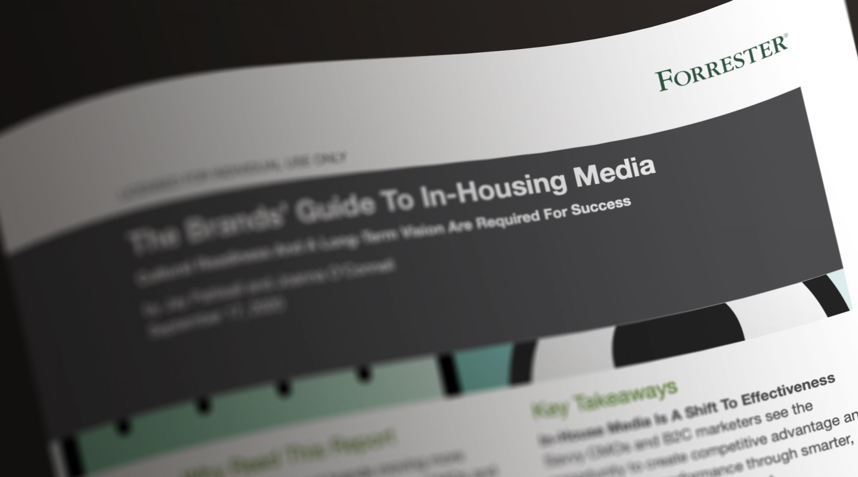 The Brands' Guide to In-Housing Media