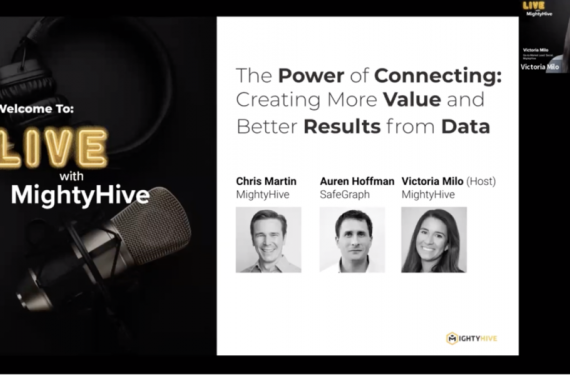 Live With MightyHive Power of Connecting Data Screenshot
