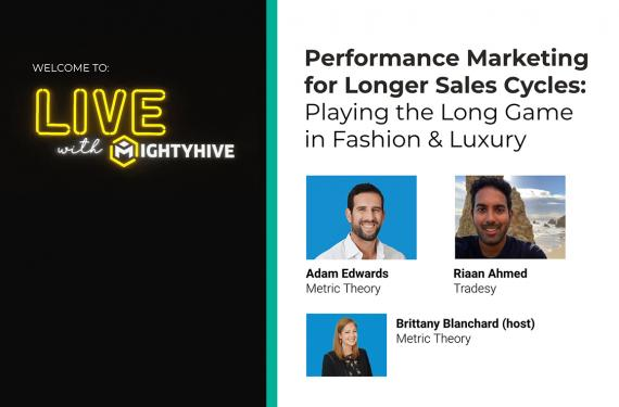 Performance Marketing for Longer Sales Cycles
