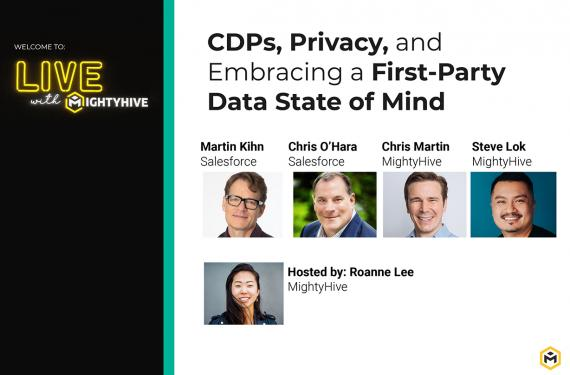 CDPs, Privacy, and Embracing a First-Party Data State of Mind